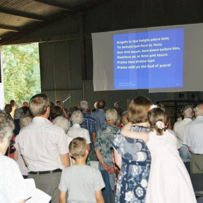 Hawling Barn Service - Hymn Singing