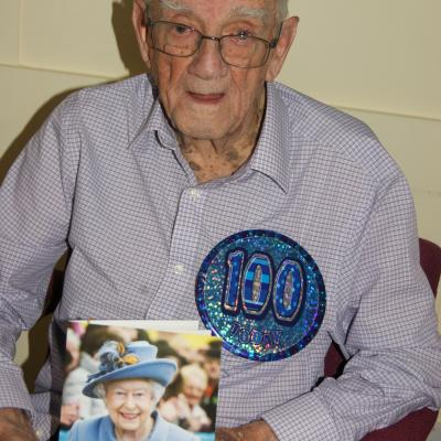 Revd Bill Farrell - 100 years young!