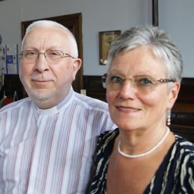 Revd Chris and Mrs Barbara Cory