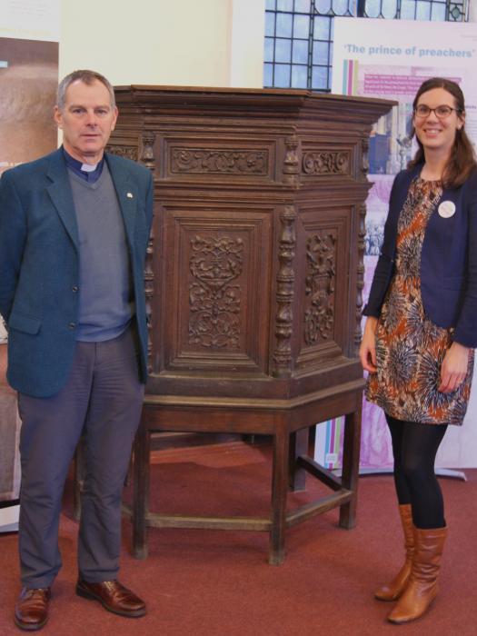 St- Johns Northgate Methodist Church - Revd John Kime and Jenine de Vries from Project DeCrypt