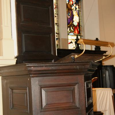 St- Johns Northgate Methodist Church - Wesleys Pulpit - Jan 2018