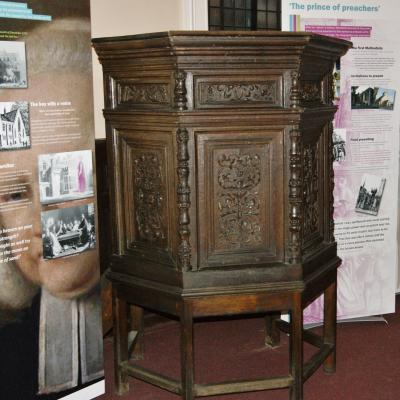 St- Johns Northgate Methodist - Whitefield Pulpit Jan 2018