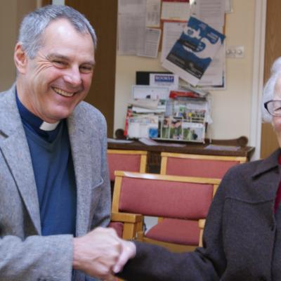 Well done ! 100 years young - Marjorie Bayliss of Barton Street Methodist Church